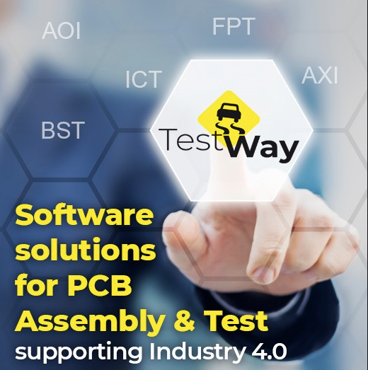 Electronic Industry 4.0: Digital Twin for PCB Assembly and Test Powered by TestWay