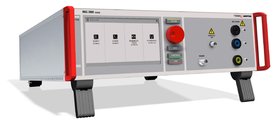 NEW Teseq Multi Function Generator NSG 3040A and NSG 3060A series