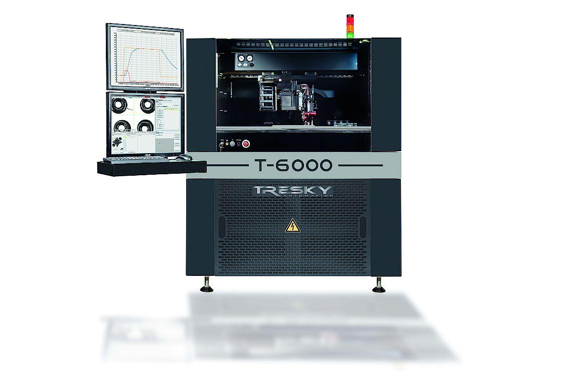 Tresky Automation : T-6000-L Flexible Automatic Die Bonder